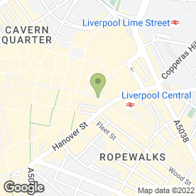 Map of 3 Store in Liverpool, merseyside