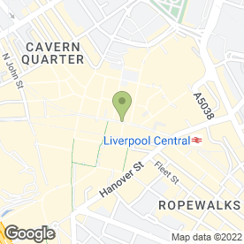 Map of Marks & Spencer plc in Liverpool, merseyside