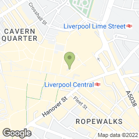 Map of Phones 4U Ltd in Liverpool, merseyside