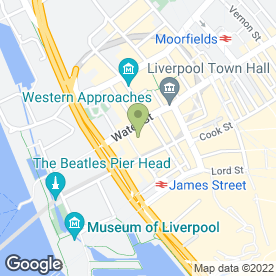 Map of Zim UK Ltd in Liverpool, merseyside
