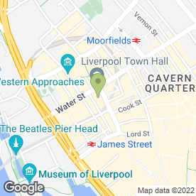 Map of Hobs Reprographics plc in Liverpool, merseyside