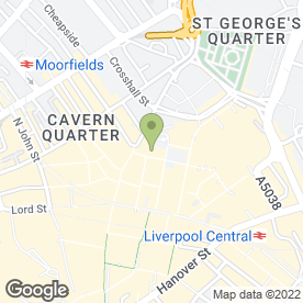 Map of Click Media in Liverpool, merseyside