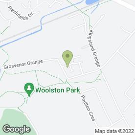 Map of 5 STAR CATERING EQUIPMENT HIRE in Woolston, Warrington, cheshire