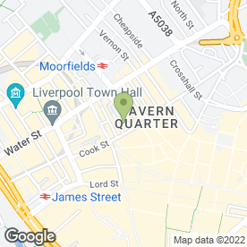 Map of GUY WILLIAMS LAYTON in Liverpool, merseyside