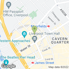 Map of Liverpool Locksmith in Liverpool, merseyside