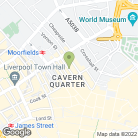 Map of Angels Paradise Ltd in Liverpool, merseyside