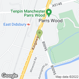 Map of Grosvenor G Casino Didsbury in Manchester, lancashire
