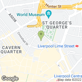 Map of Ask Liverpool in Liverpool, merseyside