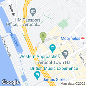 Map of R & A Home Services Ltd in Liverpool, merseyside