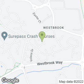 Map of Rapid Clean UK Ltd in Westbrook, Warrington, cheshire