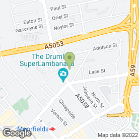 Map of National Tyres and Autocare in Liverpool, merseyside