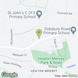 Map of The Frog & Railway in Heaton Mersey, Stockport, cheshire