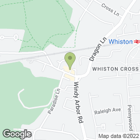 Map of C.M Davies in Whiston, Prescot, merseyside