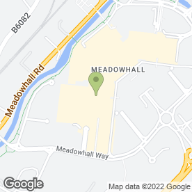 Map of Las Iguanas in Meadowhall Shopping Centre, Sheffield, south yorkshire