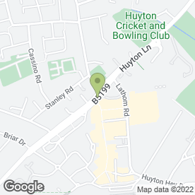 Map of Invitations Direct in Liverpool, merseyside