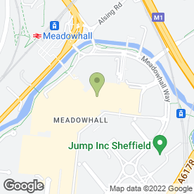 Map of Alan Paul Hairstylists in Sheffield, south yorkshire