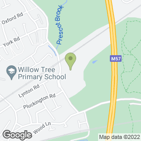 Map of Dogs Trust Rehoming Centre in Huyton, Liverpool, merseyside
