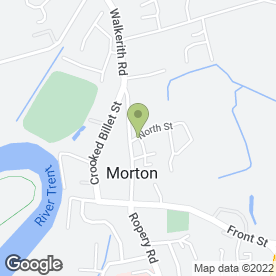 Map of Beauty Blade in Morton, Gainsborough, lincolnshire