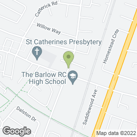 Map of Parrswood Hotel in Manchester, lancashire