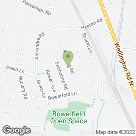 Map of MSB Soft Furnishings in Stockport, cheshire