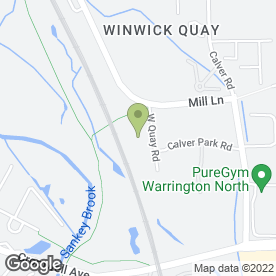 Map of BRIDGEWATER KITCHENS in Winwick, Warrington, cheshire