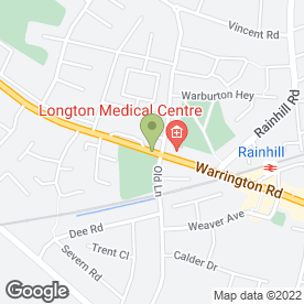 Map of G.W Barker in Rainhill, Prescot, merseyside