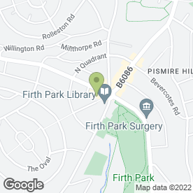 Map of Hunters Estate Agents in SHEFFIELD, south yorkshire