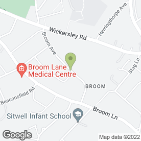 Map of Select Embroidery in Rotherham, south yorkshire