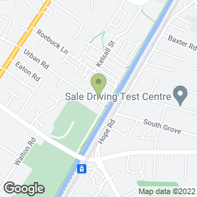 Map of Free Style Karate Association in Sale, cheshire