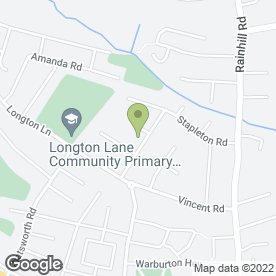 Map of Acorn Tree Services in Rainhill, Prescot, merseyside