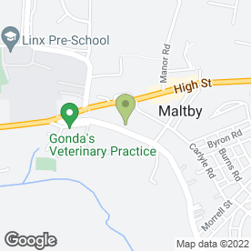 Map of Maltby MOT Test Centre & Garage in Rotherham, , south yorkshire