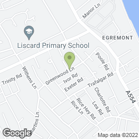 Map of Discount Moving Co in Wallasey, merseyside