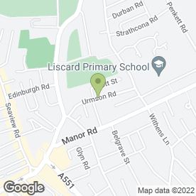 Map of Forshaws Plastering Services in Wallasey, merseyside