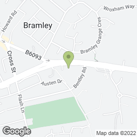 Map of Inspired Beauty in Bramley, Rotherham, south yorkshire