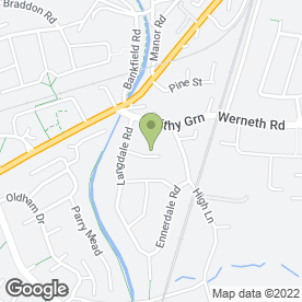 Map of Tutor Doctor in Woodley, Stockport, cheshire
