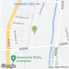 Map of Electrical Fire Security Specialist Ltd in Liverpool, merseyside