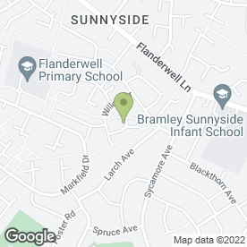 Map of Wickersley Electrical Solutions Ltd in Flanderwell, Rotherham, south yorkshire