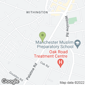 Map of Mona Hairdresser in Manchester, lancashire
