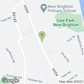 Map of Bailey & Birch Electrical Services in Wallasey, merseyside