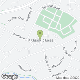 Map of Parson Cross Dental Surgery in Sheffield, south yorkshire