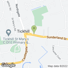 Map of Tidy in Tickhill, Doncaster, south yorkshire