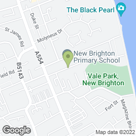 Map of R D Kane in Wallasey, merseyside