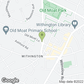 Map of YEW TREE VETERINARY SURGERY in Withington, Manchester, lancashire