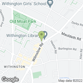 Map of homes4U in Withington, Manchester, lancashire