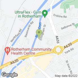 Map of FOSTERS FOR FURNITURE in Rotherham, south yorkshire