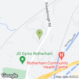 Map of Rotherham Self Storage Ltd in Rotherham, south yorkshire