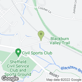Map of Apex Removals in Sheffield, south yorkshire
