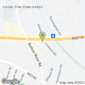 Map of Gable Nook Day Nursery in Manchester, lancashire