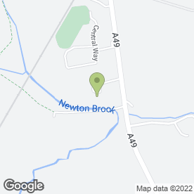 Map of G W PLANT HIRE in Newton-Le-Willows, merseyside