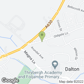 Map of KM ELECTRICAL in Thrybergh, Rotherham, south yorkshire